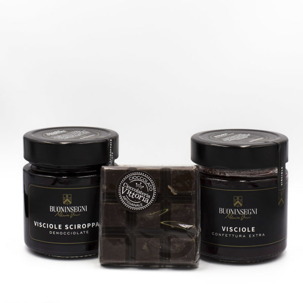 Confettura Visciole Extra Cioccolata